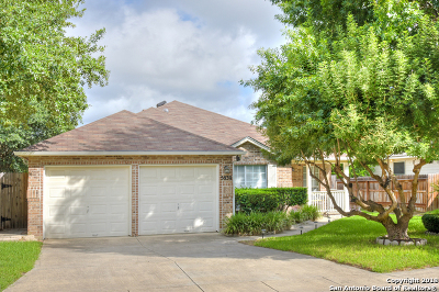 San Antonio Single Family Home New: 5839 Waterford Oaks