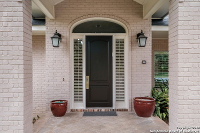 San Antonio Single Family Home New: 107 Limestone Oak