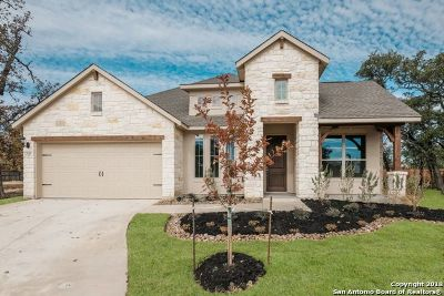 Woods Of Boerne Single Family Home New: 133 Woods Of Boerne