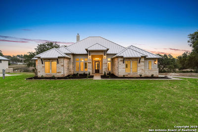 New Braunfels Single Family Home For Sale: 611 Battistrada