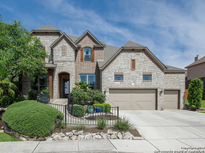 San Antonio Single Family Home New: 23430 Fairway Bridge