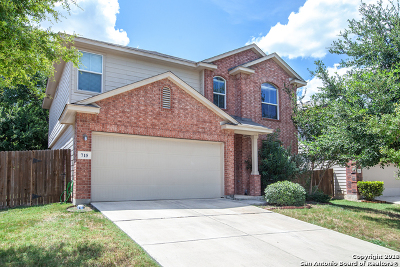 San Antonio Single Family Home New: 715 Celosia