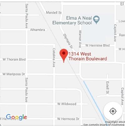 San Antonio Residential Lots & Land New: 1314 Thorain Blvd