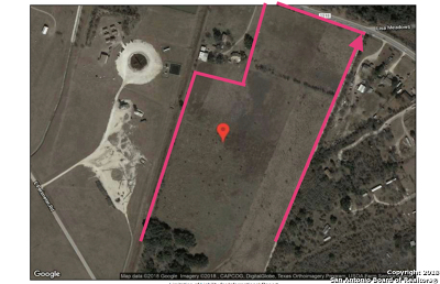Residential Lots & Land Active Option: 11207 E Fm 1518