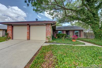 San Antonio Single Family Home New: 6414 Green Thumb Dr