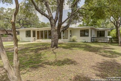 San Antonio Single Family Home New: 123 Oakleaf Dr