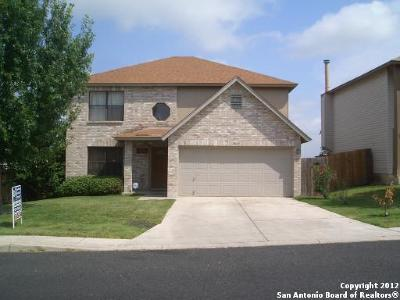 Converse Single Family Home New: 8015 Chestnut Bluff Dr