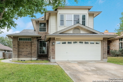 San Antonio Single Family Home Back on Market: 8027 Dove Trail Dr