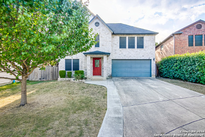 Bexar County Single Family Home Price Change: 435 Diver Pt