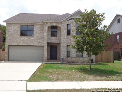 Schertz Single Family Home New: 1639 Jasmine