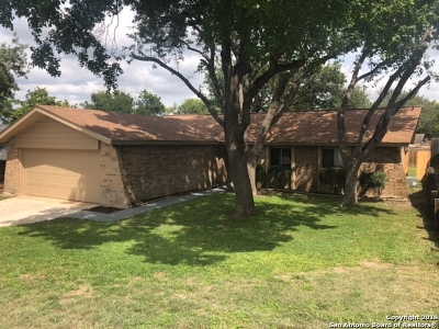Schertz Single Family Home Active Option: 5014 Tiffany Ln