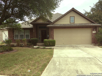 San Antonio Single Family Home Active Option: 24710 Crescent Run