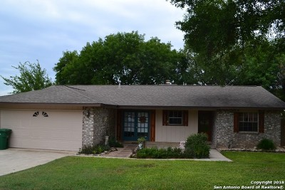 Live Oak Single Family Home New: 12234 Brownstone St