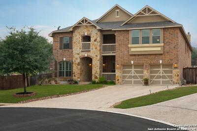 San Antonio Single Family Home Price Change: 19219 Deep Bay