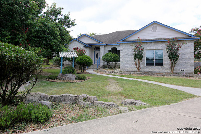 Boerne Single Family Home Price Change: 29303 Sumpter Dr