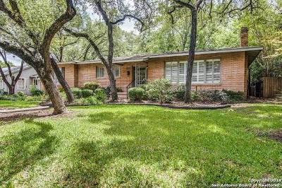 San Antonio Single Family Home New: 122 Brightwood Pl