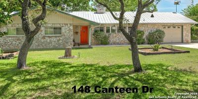 Canyon Lake Single Family Home Price Change: 148 Canteen