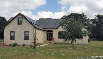 La Vernia Single Family Home New: 104 Trail Boss