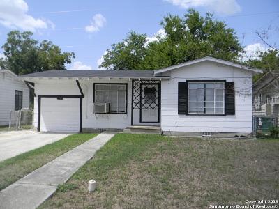 San Antonio Single Family Home New: 1336 Onslow St