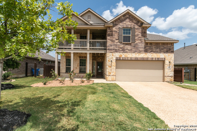 Bulverde Single Family Home For Sale: 31972 Cast Iron Cove