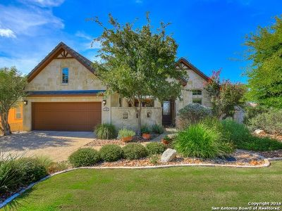 Boerne Single Family Home Price Change: 106 Hannah Ln