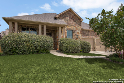 San Antonio Single Family Home Price Change: 25518 River Ranch