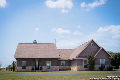 Hondo Single Family Home For Sale: 3982 County Road 541