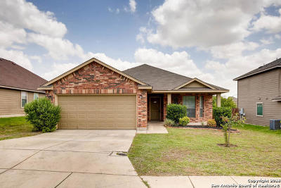 Converse Single Family Home New: 7627 Sterling Manor