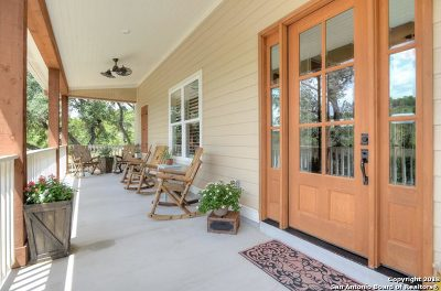 Boerne Single Family Home Back on Market: 213 Spanish Pass Rd