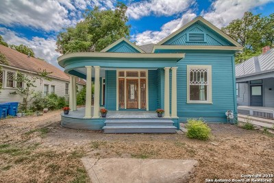 San Antonio Single Family Home Active Option: 419 Cedar St