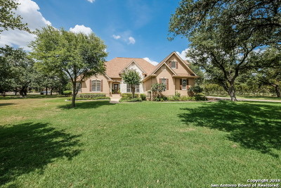 Bulverde Single Family Home Price Change: 139 Lost Creek Dr