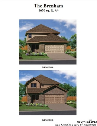Converse Single Family Home New: 7425 Summer Blossom Court