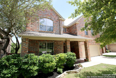 San Antonio Single Family Home New: 23234 Bison Canyon