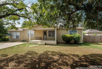 San Antonio TX Single Family Home Back on Market: $170,000