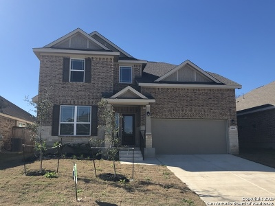 San Antonio Single Family Home New: 15042 Stagehand Dr
