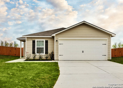 San Antonio Single Family Home New: 12334 Kirshner Way