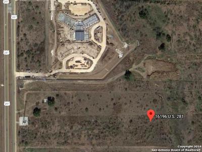 San Antonio Residential Lots & Land For Sale: S Us Hwy 281 Hwy 281