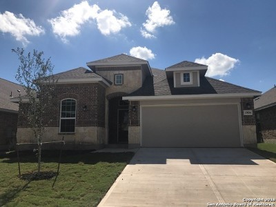 Bexar County Single Family Home New: 15034 Stagehand Dr
