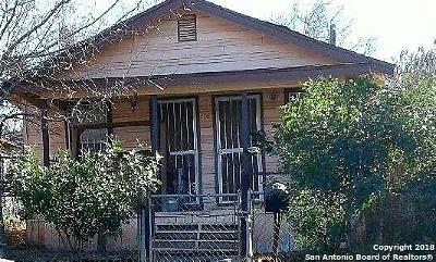 San Antonio Single Family Home New: 208 Lucas St