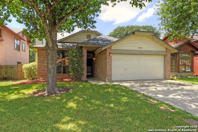 San Antonio Single Family Home New: 9651 Silver Moon