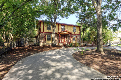 San Antonio Single Family Home New: 7243 Vandiver Rd