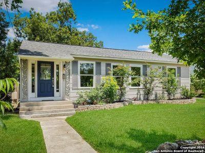 San Antonio TX Single Family Home New: $330,000