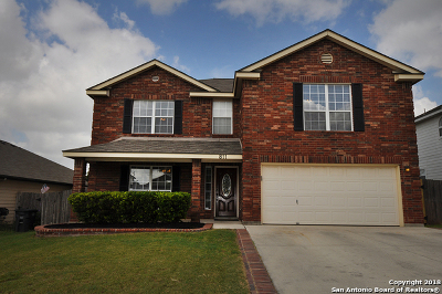 San Antonio Single Family Home New: 811 Cougar Country