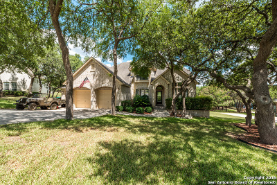 San Antonio Single Family Home New: 23019 Steeple Bluff