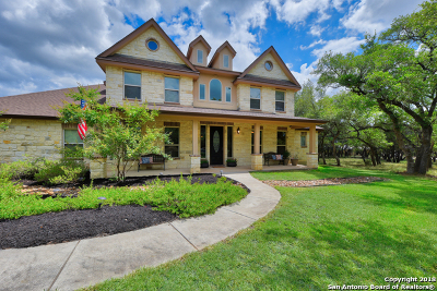 New Braunfels Single Family Home For Sale: 26552 Lewis Ranch Rd