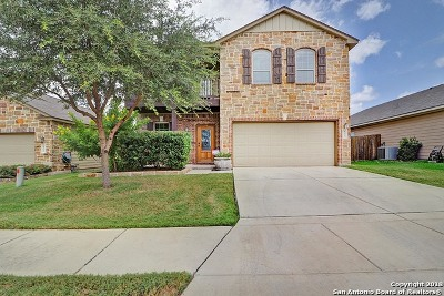 Cibolo Single Family Home Active Option: 432 Stonebrook Dr
