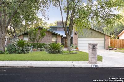 San Antonio Single Family Home New: 3307 Trailway Park St