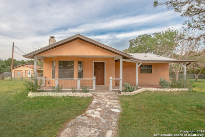 Canyon Lake Single Family Home New: 1450 Greenhill Dr