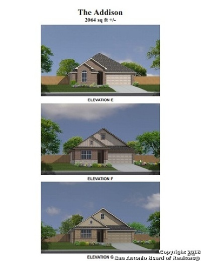New Braunfels Single Family Home New: 2993 Sunset Summit