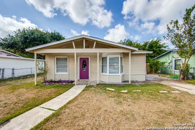 San Antonio TX Single Family Home New: $142,000